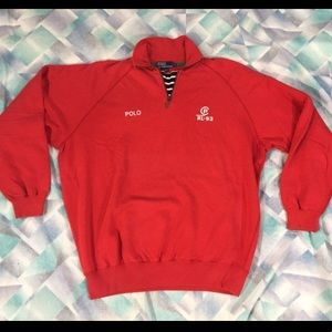 CP93 vintage Polo by Ralph Lauren pullover Rare XL